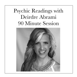 Private Readings with Deirdre Button image 30 minutes