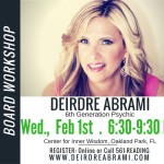 YOU CAN MANIFEST YOUR DESIRES….with the Manifesting & Vision Board Workshop!