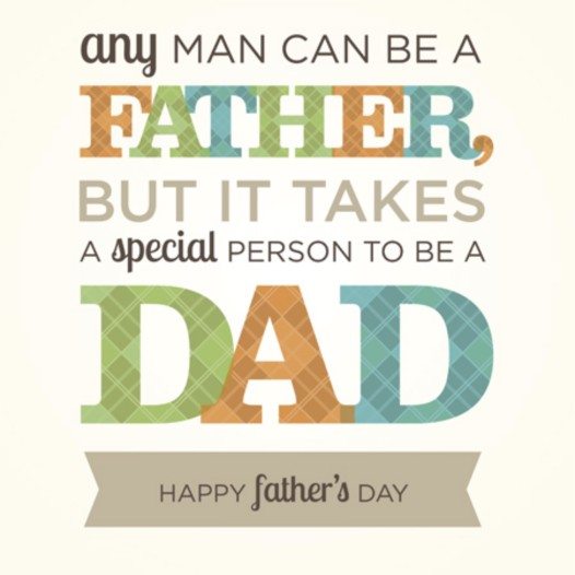 Happy Father's Day…